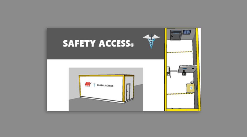 Le couloir sanitaire GLOBAL ACCESS, du Groupe CAVAS
